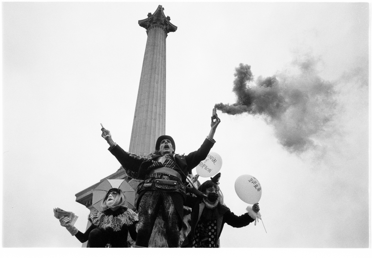 Working the Scene from Four Different Perspectives: Protest Photography